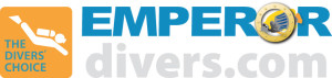 Emperor logo Divers choice for use on white backgrounds