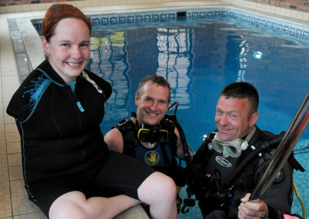 scuba diving ambassador