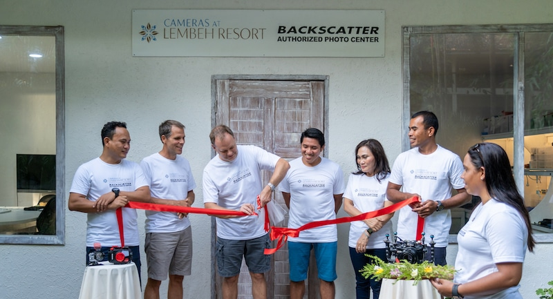 First ever Backscatter Authorized Photo Center opens at Lembeh Resort