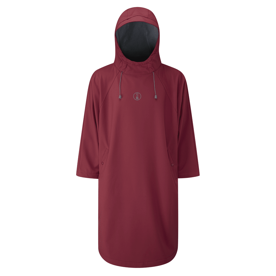 z-fourth-element-storm-all-weather-poncho-burgundy-front