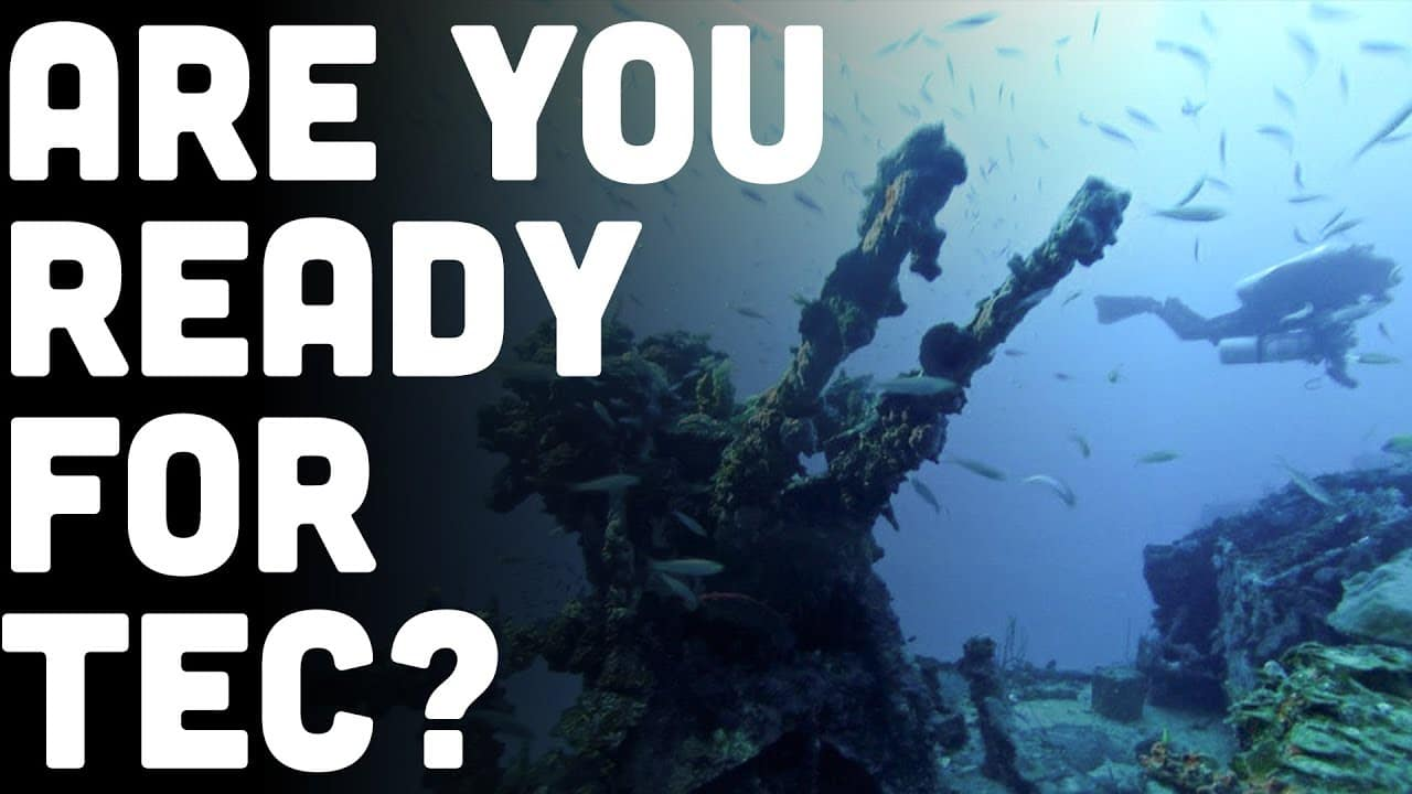 Technical Scuba Diving: 5 Signs You're Good To Start. Part 2 of 2 (Watch Video)