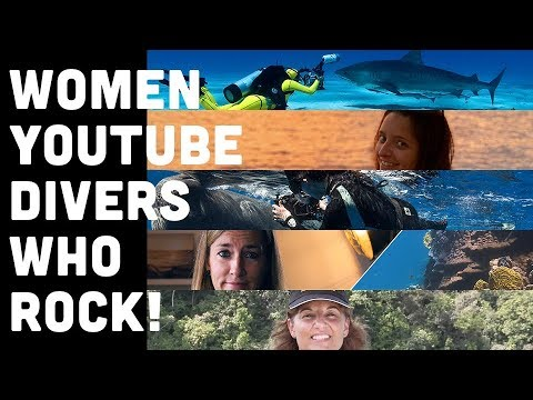 5 Women Divers With YouTube Channels That Inspire Divers Ready (Watch Video)