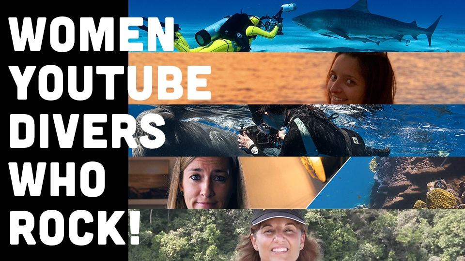 5 women youtube divers who_s content rocks