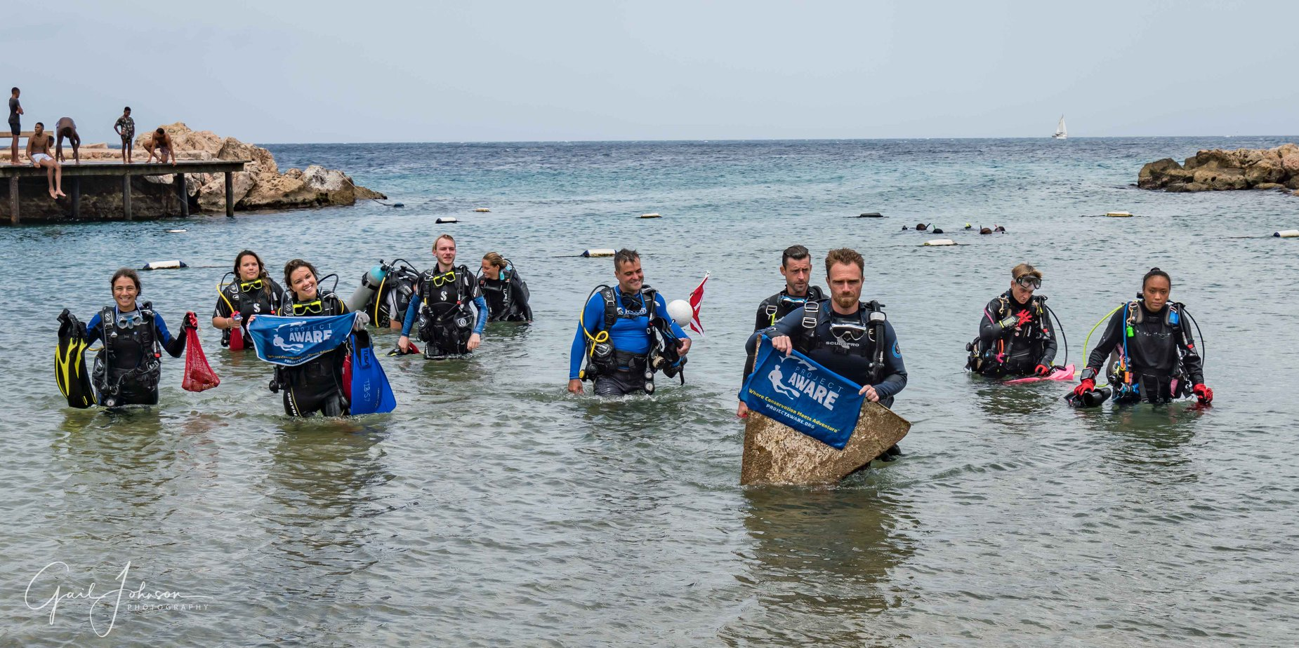 Curacao Underwater and Beach Clean up