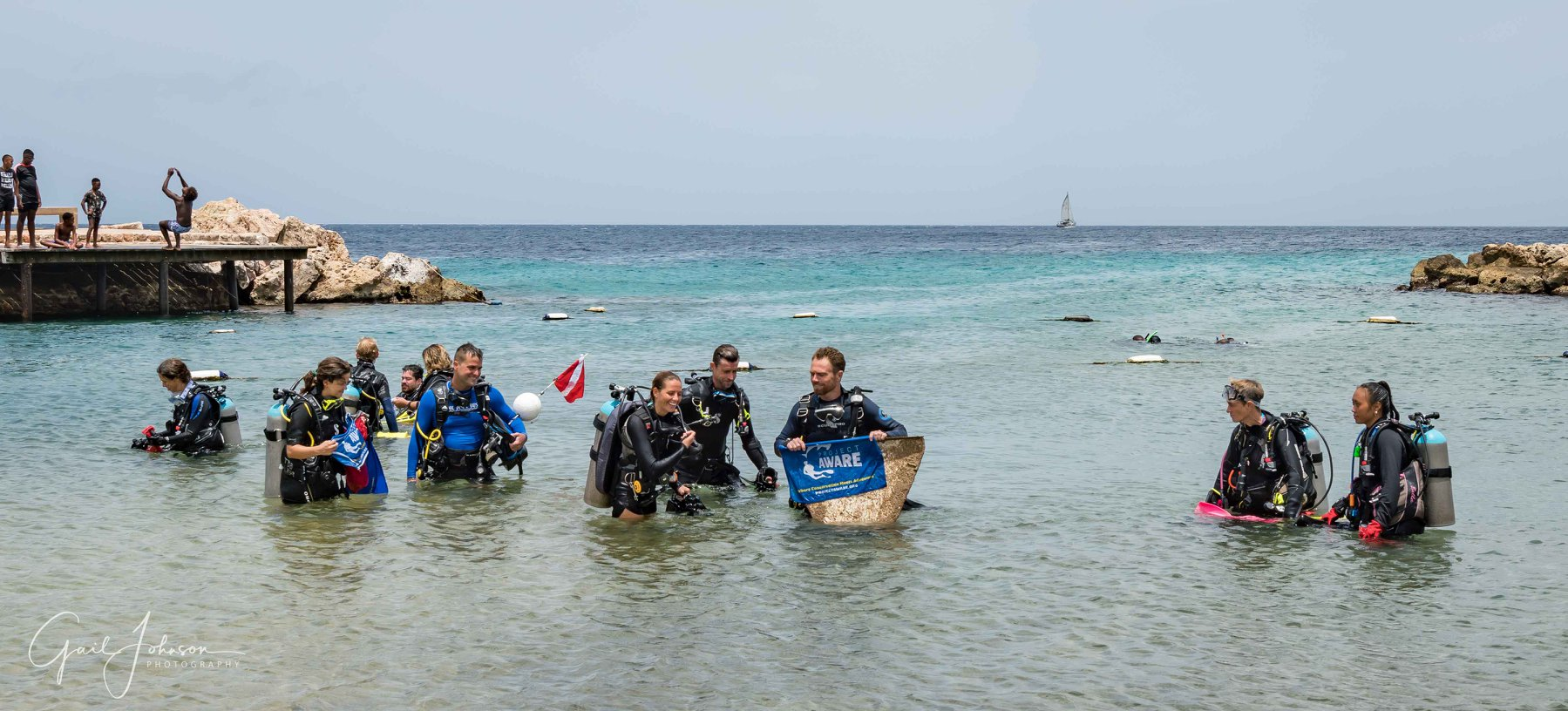 Curacao Underwater and Beach Clean up 9
