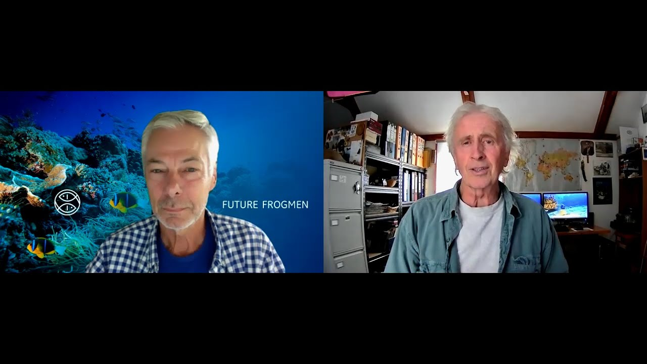 Jeff chats to… Richard Hyman, Founder of Future Frogmen – Part 1 (Watch Video)