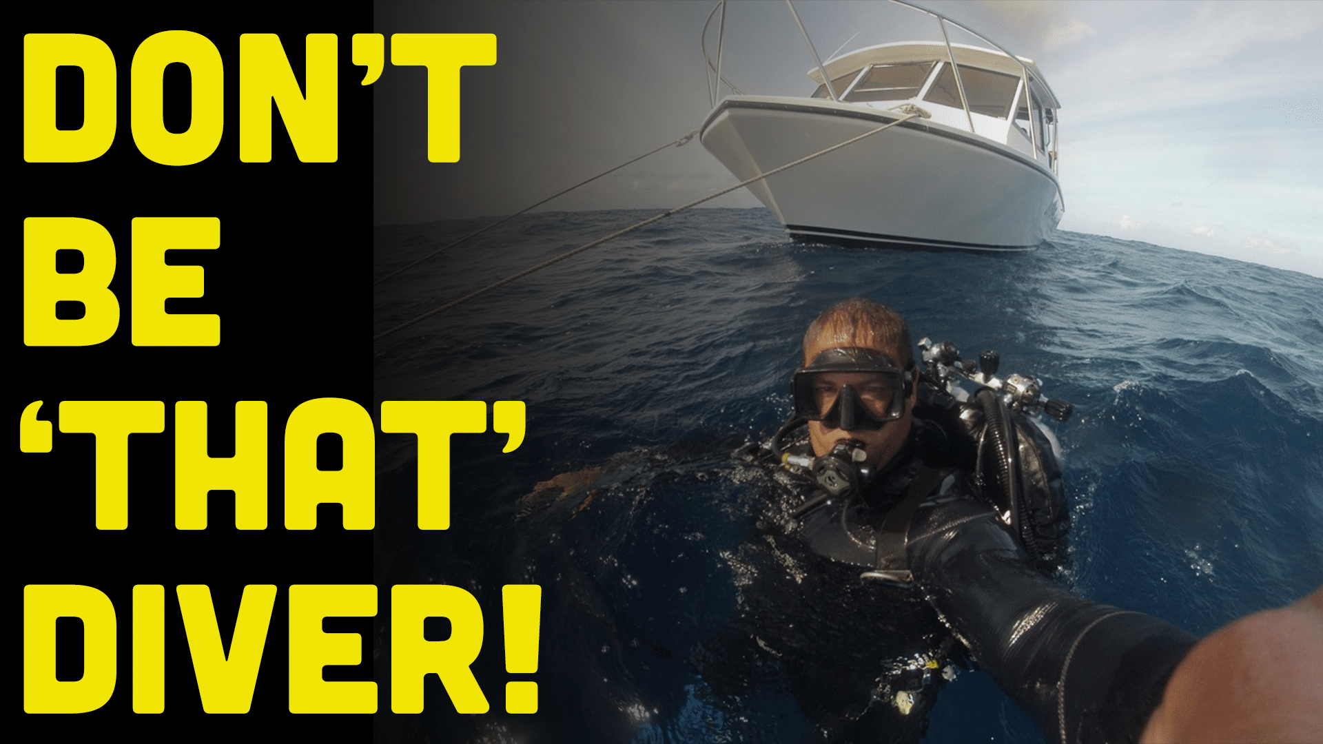 14 Divers You Don_t Want To Be On A Scuba Diving Charter Boat