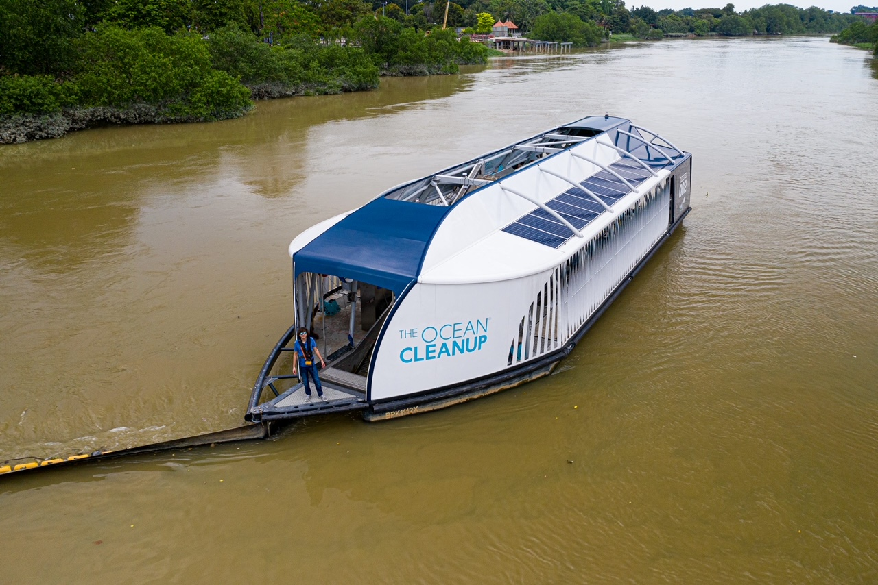Interceptor in Malaysia_Credit The Ocean Cleanup