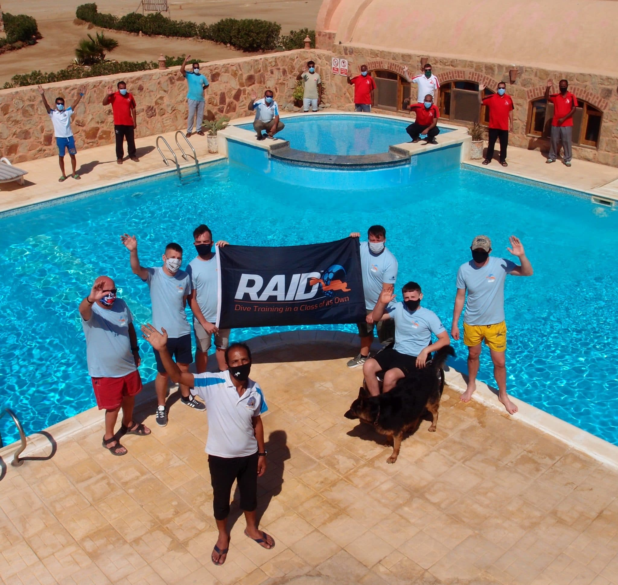 Team Deptherapy at Roots Red Sea, Egypt 2 Credit Deptherapy and Roots Red Sea