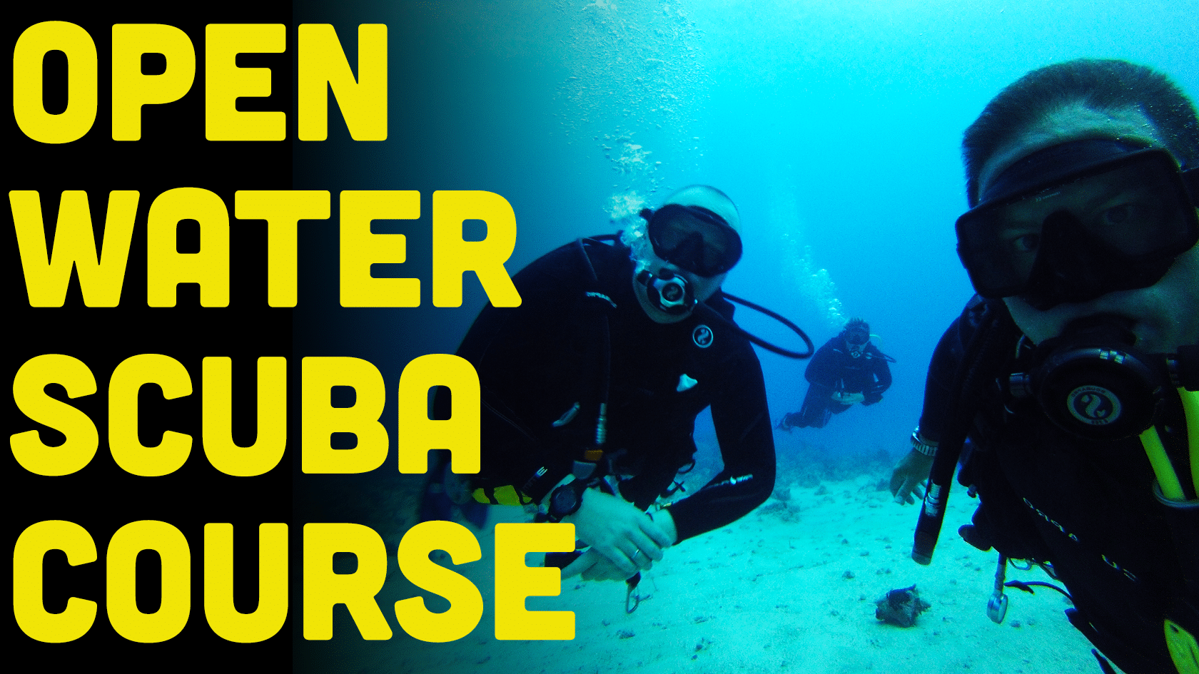 What To Expect On Your Open Water Scuba Diver Course