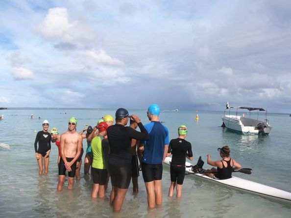 The Mauritius 2020 Island Swim for Conservation